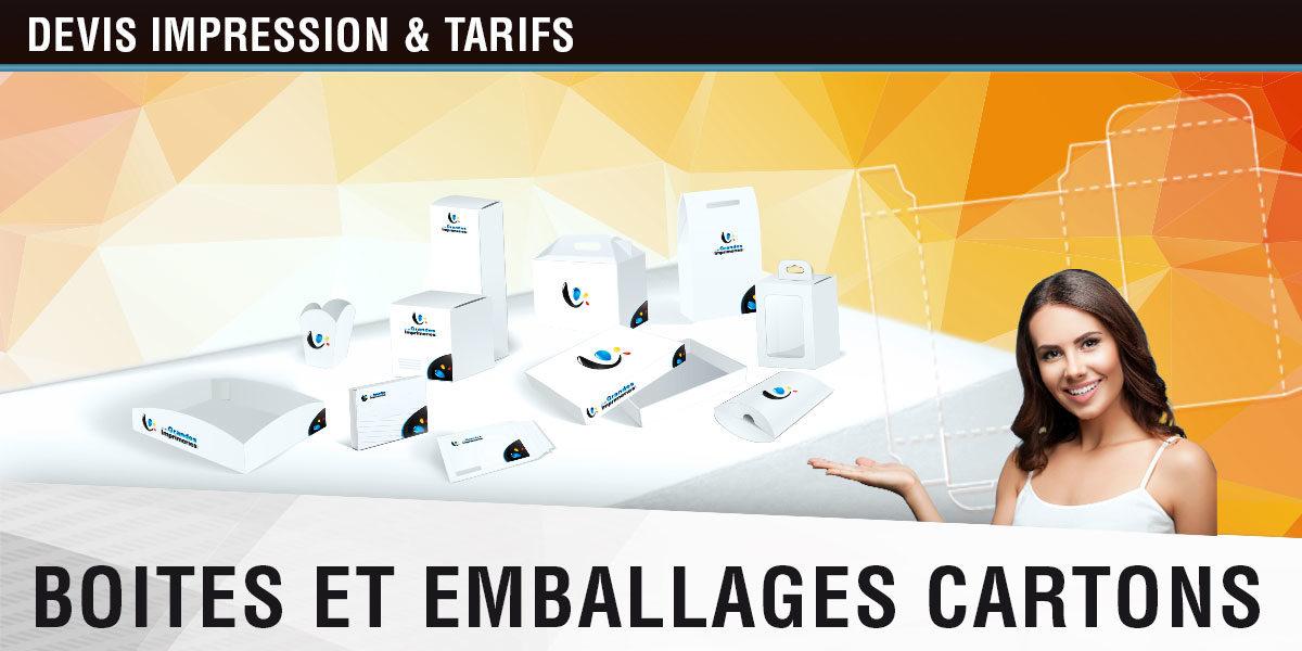 Emballage Personnalisé – Imprimeur emballage en ligne